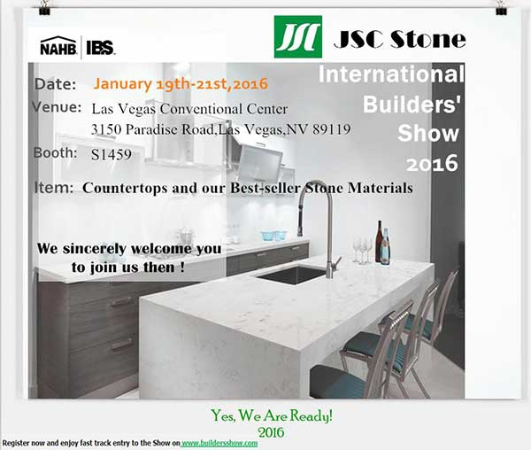 ALPS Stone & The 72nd International Builder's Show (IBS 2016) news & expo. 3