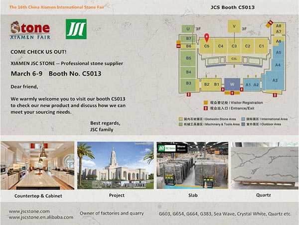 ALPS Stone Attended The 16th China Xiamen International Stone Fair news & expo. 2
