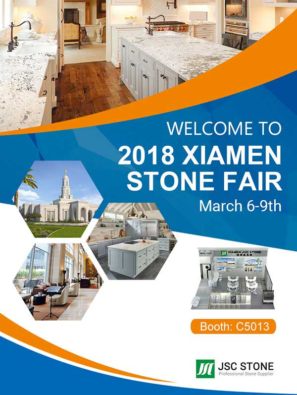 Meet JSC Stone at 18th Xiamen International Stone fair 2018 news & expo. 2