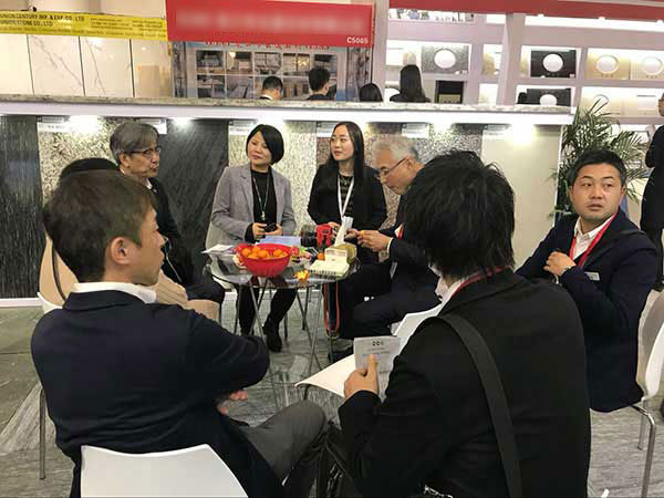 Meet JSC Stone at 18th Xiamen International Stone fair 2018 news & expo. 5