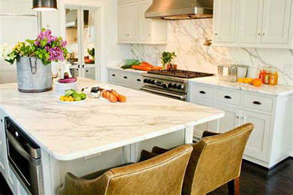 Marble Is Still the Material of Choice for Kitchen Countertops press releases