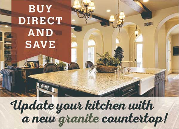 Try Granite Countertops for Update Your Kitchen press releases
