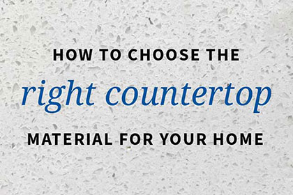 Popular Countertop Materials Enliven Your Home press releases