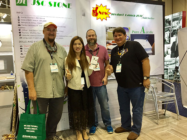 Meet JSC Stone again in 2018 IBS, Jan. 9-11th news & expo. 7
