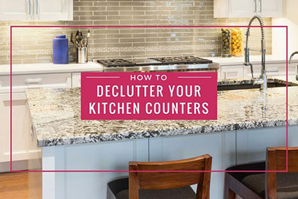 How to Declutter Your Kitchen Countertops press releases