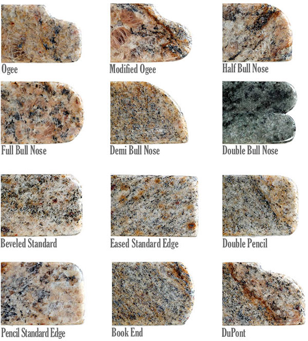 Different Types of Granite Edge Options press releases