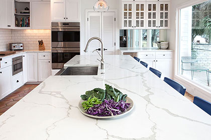 Designing a kitchen with marble countertops press releases