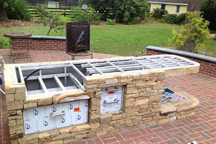 How to build an outdoor kitchen press releases